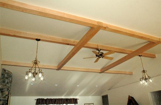 Creative Ceiling Enhances Home